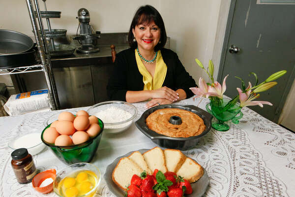 Di-Anna R. Arias, vice president of sales and culinary vision for Don Strange of Texas Inc., has been making her grandmother's pound cake since she was a child.