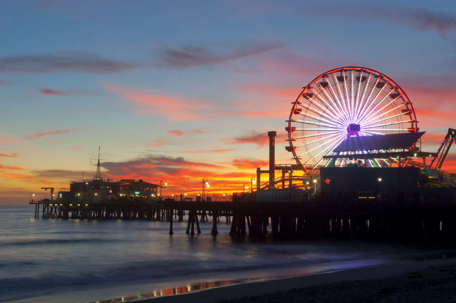 """9. Los Angeles: A """"daily menu in the business district"""" (whatever that is) costs $16 in this Southern California city. A """"summer dress"""" from a chain store like Zara or H&M costs $51 here. Photo: Blend Images/Pete Saloutos, Getty Images / Brand X"""