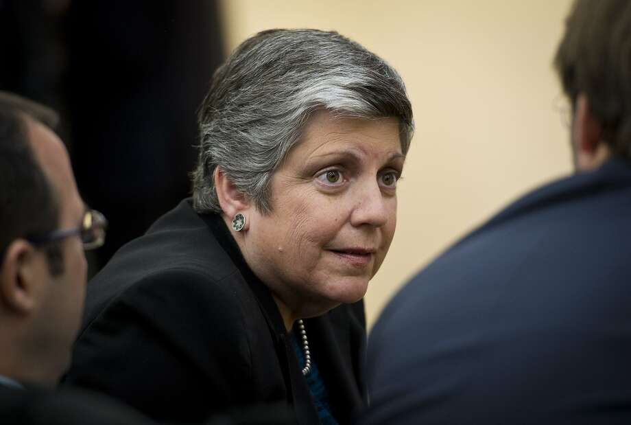 University of California President Janet Napolitano wants to help low-income students attend college. Photo: Mandel Ngan, AFP/Getty Images