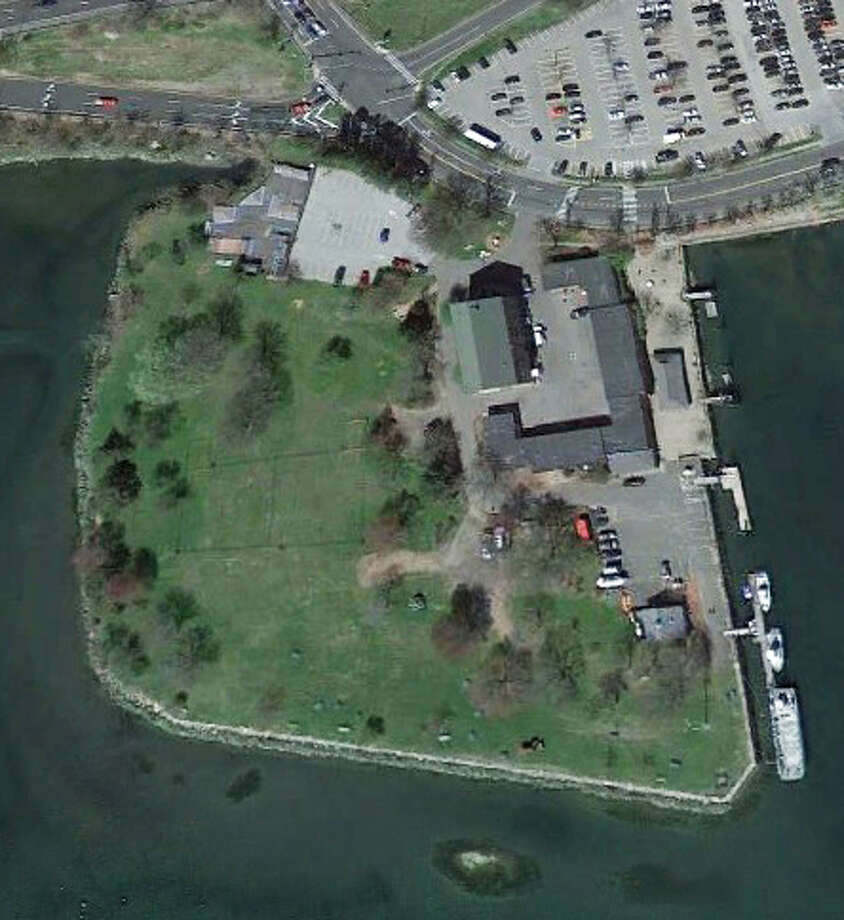 What is the name of this park that juts into Long Island Sound? Photo: Google Earth