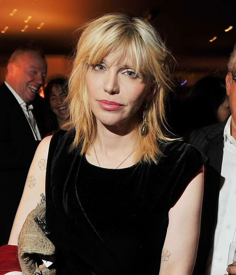 Courtney Love is being sued by her former lawyer over a tweet. Photo: Stephen Lovekin, Getty