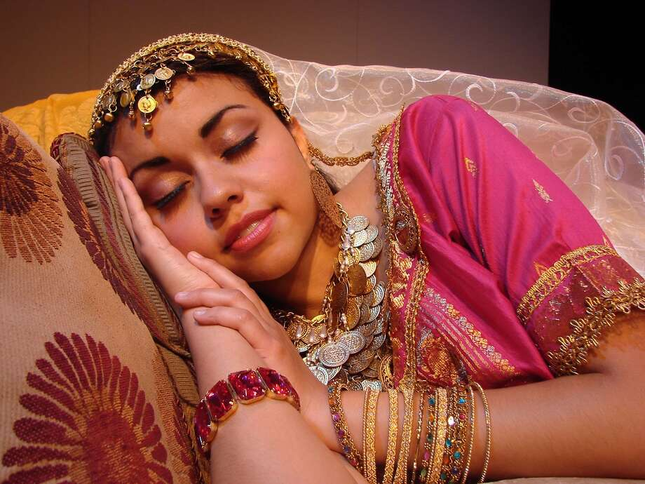 """Regina Leon has the title role in """"Bollywood Sleeping Beauty."""" Seven other teens are in the cast. Photo: New Conservatory Theatre Center"""