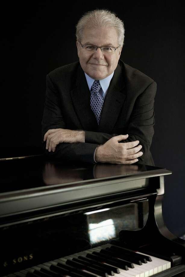 Pianist Emanuel Ax Photo: Lisa Marie Mazzucco