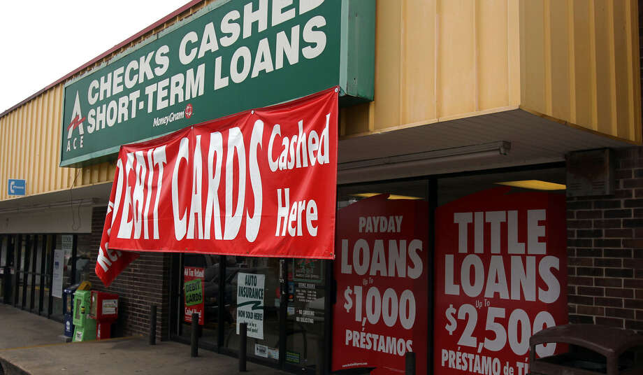 ACE short term loans is at 805 W. Hildebrand Ave. San Antonio and several other cities have imposed regulations on the industry, but thus far the state has not. Photo: John Davenport / San Antonio Express-News / Houston Chronicle