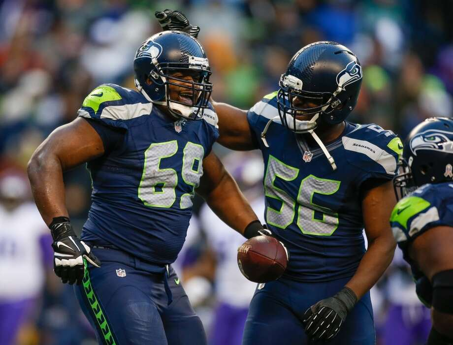 Defensive line Now we turn our attention to the real stars of both teams: the defenses. Both the Seahawks and 49ers are elite, ranking first and third in scoring defense, respectively. And while Seattle does most of its damage against the pass (No. 1 overall in the NFL), San Francisco makes its bones stopping the ground game (No. 4).  The 49ers boast a solid, if unspectacular group up front. Thirteen-year veteran and five-time Pro-Bowler Justin Smith is the unit's best player, turning in another strong season with 6.5 sacks. Ray McDonald and former Kansas City Chiefs first-round pick Glenn Dorsey start alongside Smith and do a nice job of occupying blockers so the Niners' excellent linebacking corps roam free. Ends Tony Jerod-Eddie and Demarcus Dobbs, and tackle Quinton Dial, are the key backups. Coming into the 2013 season, the D-line was a major concern for the Seahawks. They brought in free-agent ends Cliff Avril and Michael Bennett to upgrade the pass-rush, and it worked. They led the team in sacks with 8.0 and 8.5 respectively, and Bennett was particularly effective against the run, taking up residence in the opposition's backfield with regularity. On the inside, the numbers don't tell the entire story for Brandon Mebane, who was dominant while stuffing the ground game and more than adequately guarding against the pass. He's the unsung superstar of the Seattle D. The revamped unit boasts great depth with ends Red Bryant and Chris Clemons, along with tackles Tony McDaniel and Clinton McDonald, giving the Hawks seven D-linemen who could start just about anywhere else in the league. Advantage: Seahawks Photo: Otto Greule Jr, Getty Images