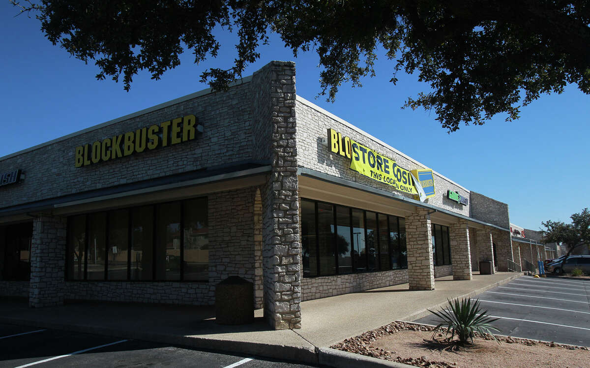 Blockbuster officially closed its remaining 10 locations in San Antonio, opening real estate space for other retailers. This location is 2951 Thousand Oaks Drive.
