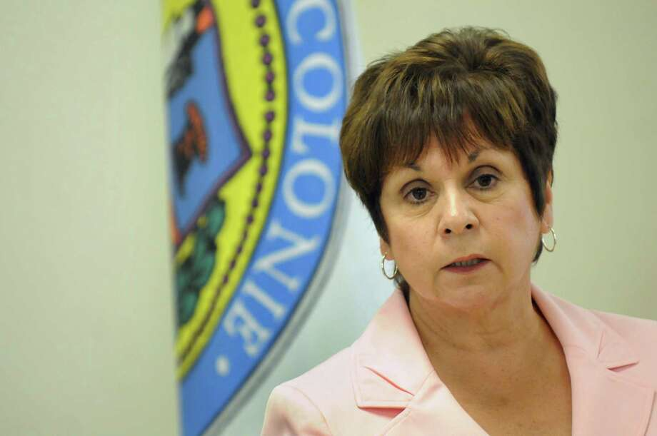 Town Supervisor Paula Mahan Tuesday, Aug. 27, 2013, at Colonie Town Hall in Colonie, N.Y.  (Cindy Schultz / Times Union archive) Photo: Cindy Schultz / 00023656A
