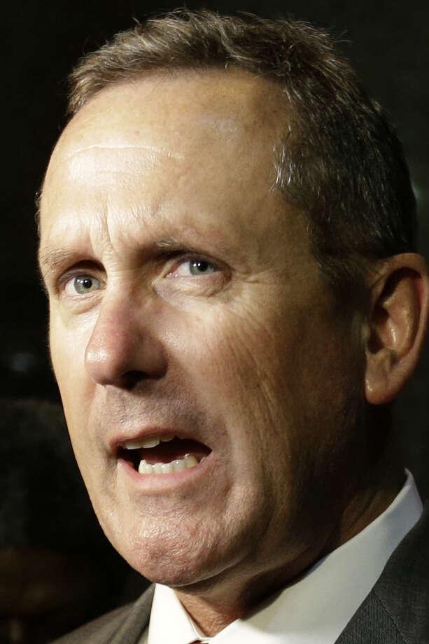 Attorney Mike McCrum, accused of contempt, sought to recuse visiting Judge Dick Alcala. / AP
