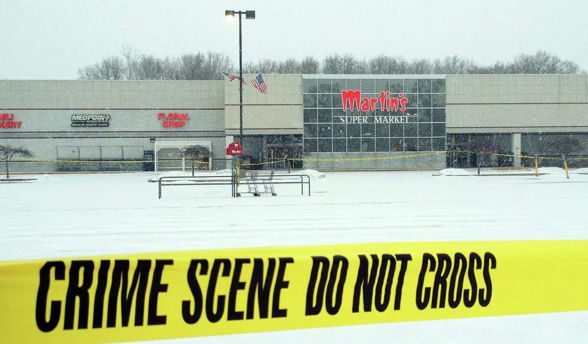 """An Indiana State Police sergeant said """"we'll never know"""" whether the killer was picking people out to shoot at Martin's Super Market in Elkhart."""