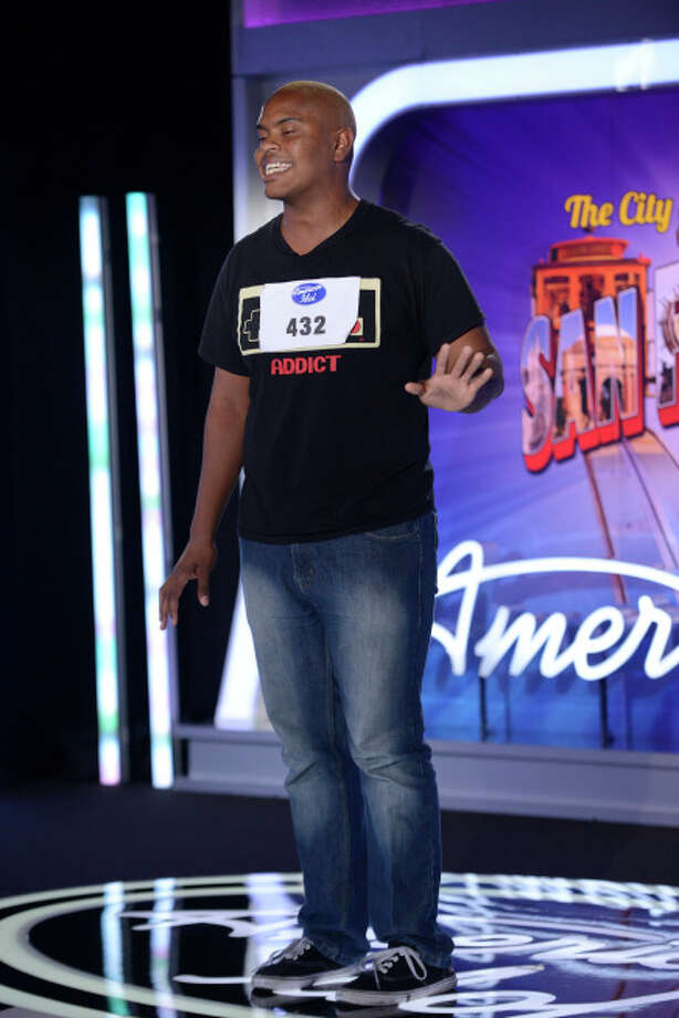 AMERICAN IDOL XIII: San Francisco Auditions: Contestant Emmanuel Zidon auditions in front of the judges on AMERICAN IDOL XIII airing Thursday, Jan. 16 (8:00-10:00 PM ET/PT) on FOX. CR: Michael Becker / FOX. Copyright 2014 FOX BROADCASTING.