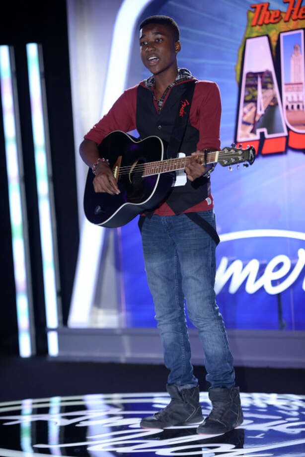 AMERICAN IDOL XIII: Austin Auditions: Contestant Jamiah Malik auditions in front of the judges on AMERICAN IDOL XIII airing Thursday, Jan. 16 (8:00-10:00 PM ET/PT) on FOX. CR: Michael Becker / FOX. © 2014 FOX BROADCASTING. / 1