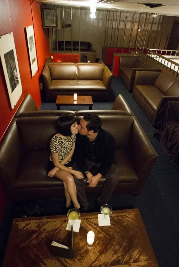 The way it was:  A couple gets cozy. Photo: J. Patric Schneider, For The Chronicle