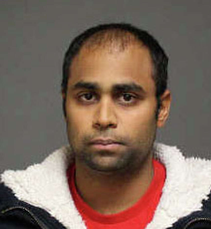 Anand Amin, 24, of Rocky Hill, was charged with running a fake modeling agency to extort money from a Sacred Heart University student. Photo: Contributed Photo / Fairfield Citizen