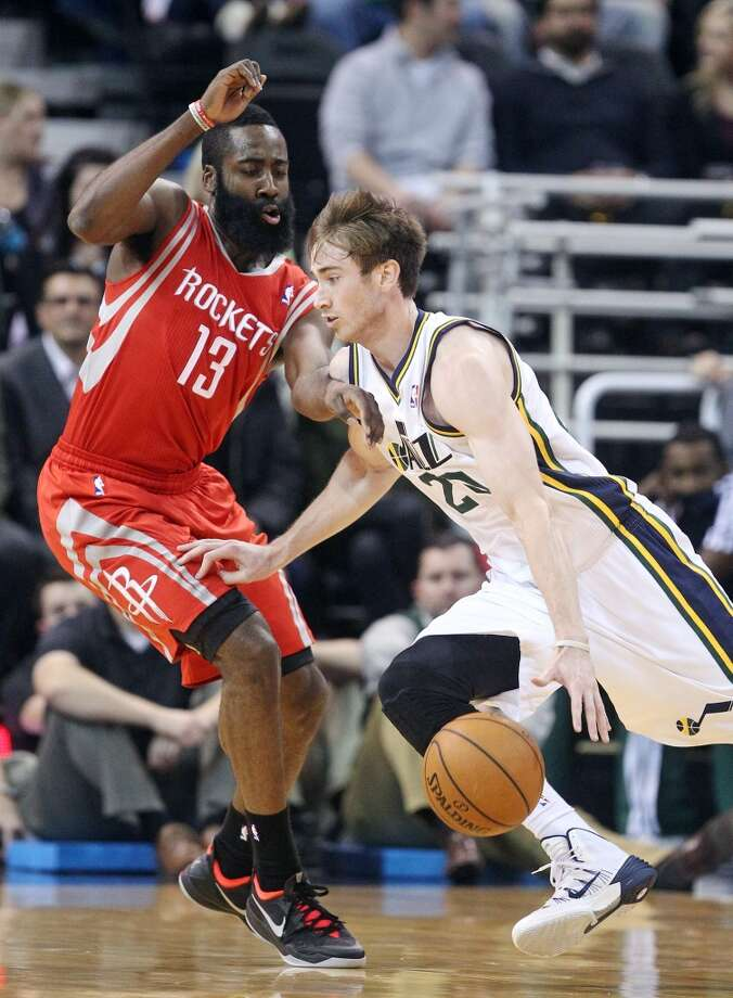 Dec. 2: Jazz 109, Rockets 103 - Against one of the worst teams in the Western Conference, Houston got off to a sluggish start and it haunted them the rest of the night. Utah's Gordon Hayward had 29 points to give the Jazz a rare win. Photo: Rick Bowmer, Associated Press