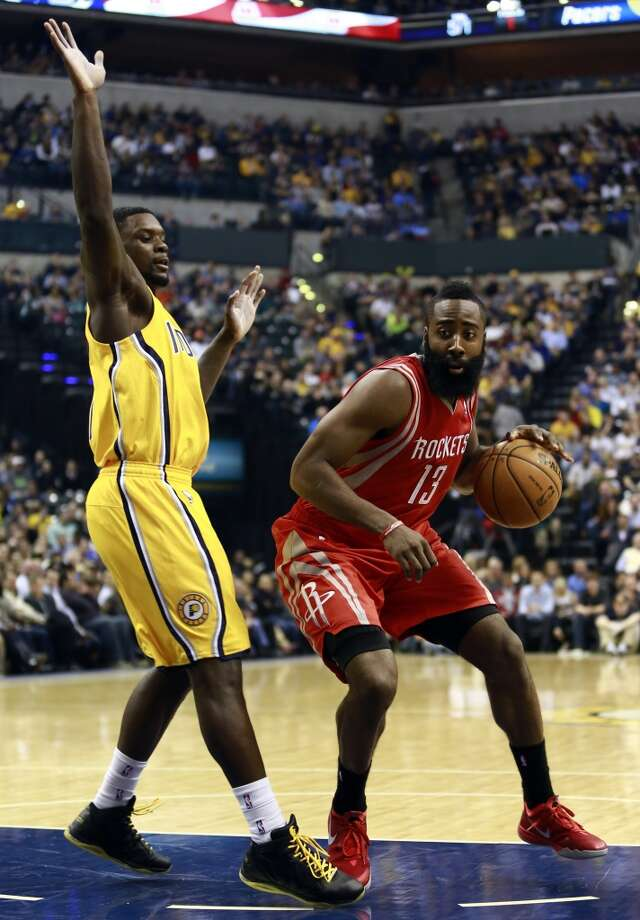 Dec. 20: Pacers 114, Rockets 81 - There's not much shame in losing to Indiana. But this blowout loss showed how much ground the Rockets need to make up before being considered a true contender. Photo: R. Brent Smith, Associated Press