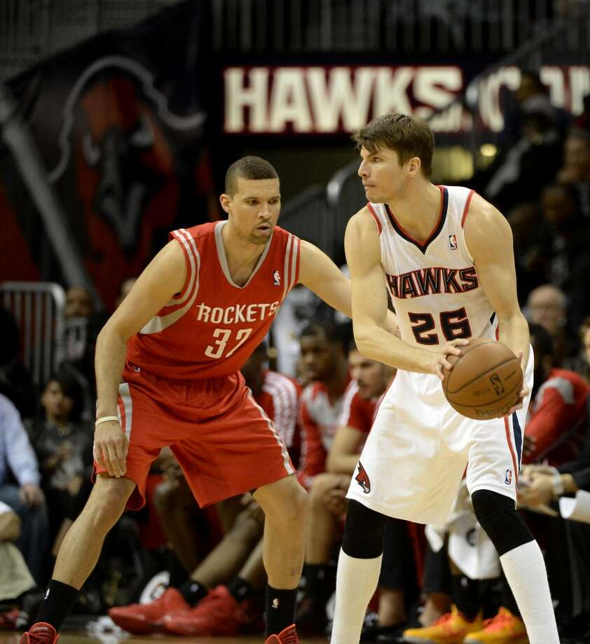 Jan. 10: Hawks 83, Rockets 80 - Houston defeated Atlanta 113-84 on Nov. 27. The rematch wasn't nearly as easy, as the Rockets faded down the stretch allowing the Hawks to win. Photo: David Tulis, Associated Press