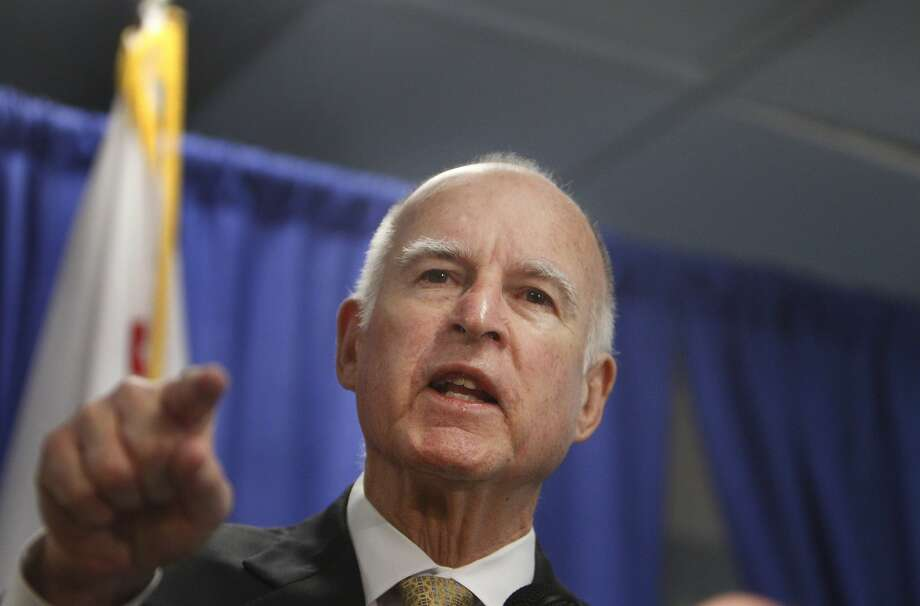 California Governor Jerry Brown speaks during a press conference where he declared a drought  State of Emergency on Friday, January 17, 2014  in San  Francisco, Calif. Photo: Lea Suzuki, The Chronicle