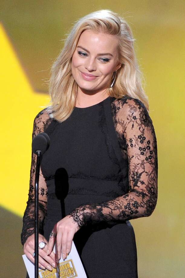 Actress Margot Robbie speaks onstage during the 19th Annual Critics' Choice Movie Awards at Barker Hangar on January 16, 2014 in Santa Monica, California. Photo: Kevin Winter, Getty Images