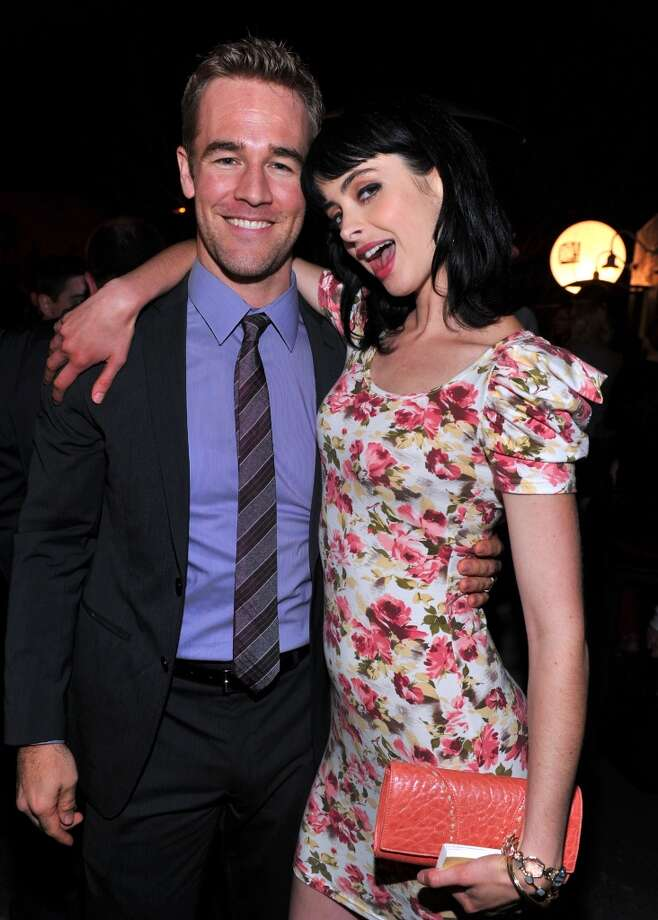 "James Van Der Beek and Krysten Ritter in 2011. Van Der Beek appeared as himself several times on ""Don't trust the B- In Apt. 23,"" in which Ritter starred. Photo: Alberto E. Rodriguez"