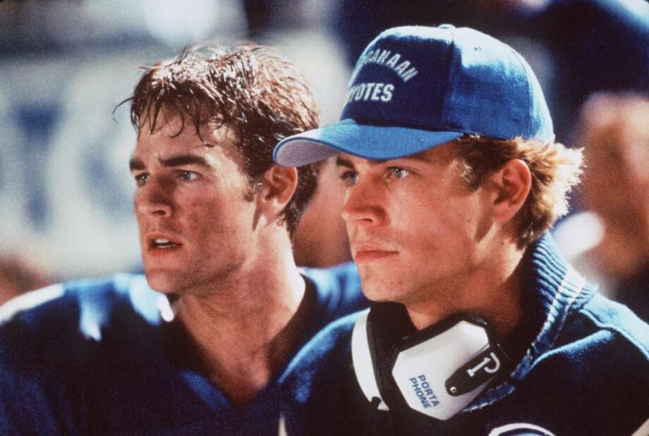 "'Varsity Blues' (1999):Say it with us: ""I don't want your life."" (Bonus points if you used a Texas drawl.) An average Joe student (played by James Van Der Beek) at a small-town Texas high school suddenly is on the path to be the school's next big football star. But between an overbearing father and a coach whose methods are questionable, his fate is up in the air. Photo: Deana Newcomb, Paramount Pictures C1998"