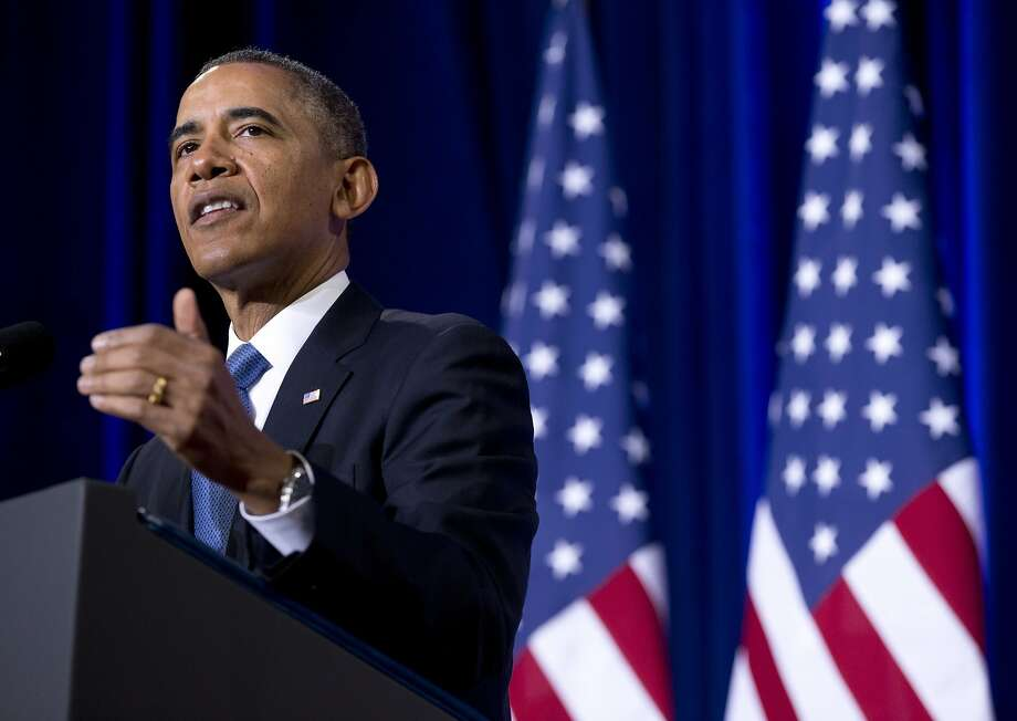 President Obama's announcement follows the leaks about spying programs made by former National Security Agency analyst Edward Snowden. Photo: Carolyn Kaster, Associated Press