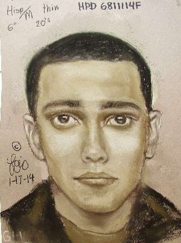 HPD have released a sketch of a man wanted after a shooting and sexual assault on Elliger Lane Thursday Jan. 16th