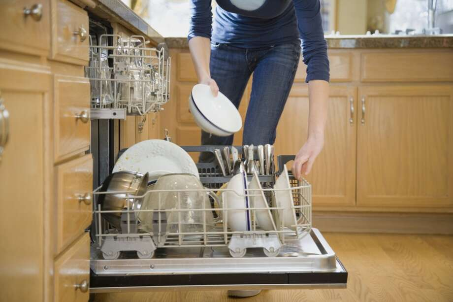 Dishwashers typically use less water than washing dishes by hand. Photo: Andersen Ross, Getty Images