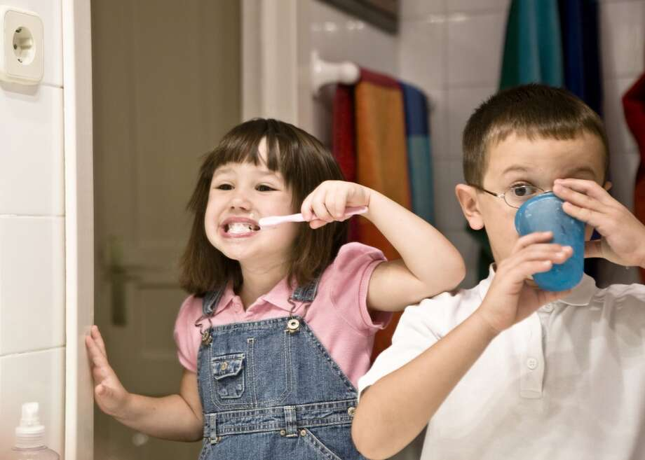Don't run the water while brushing your teeth or shaving. You'll save 10 gallons a day.