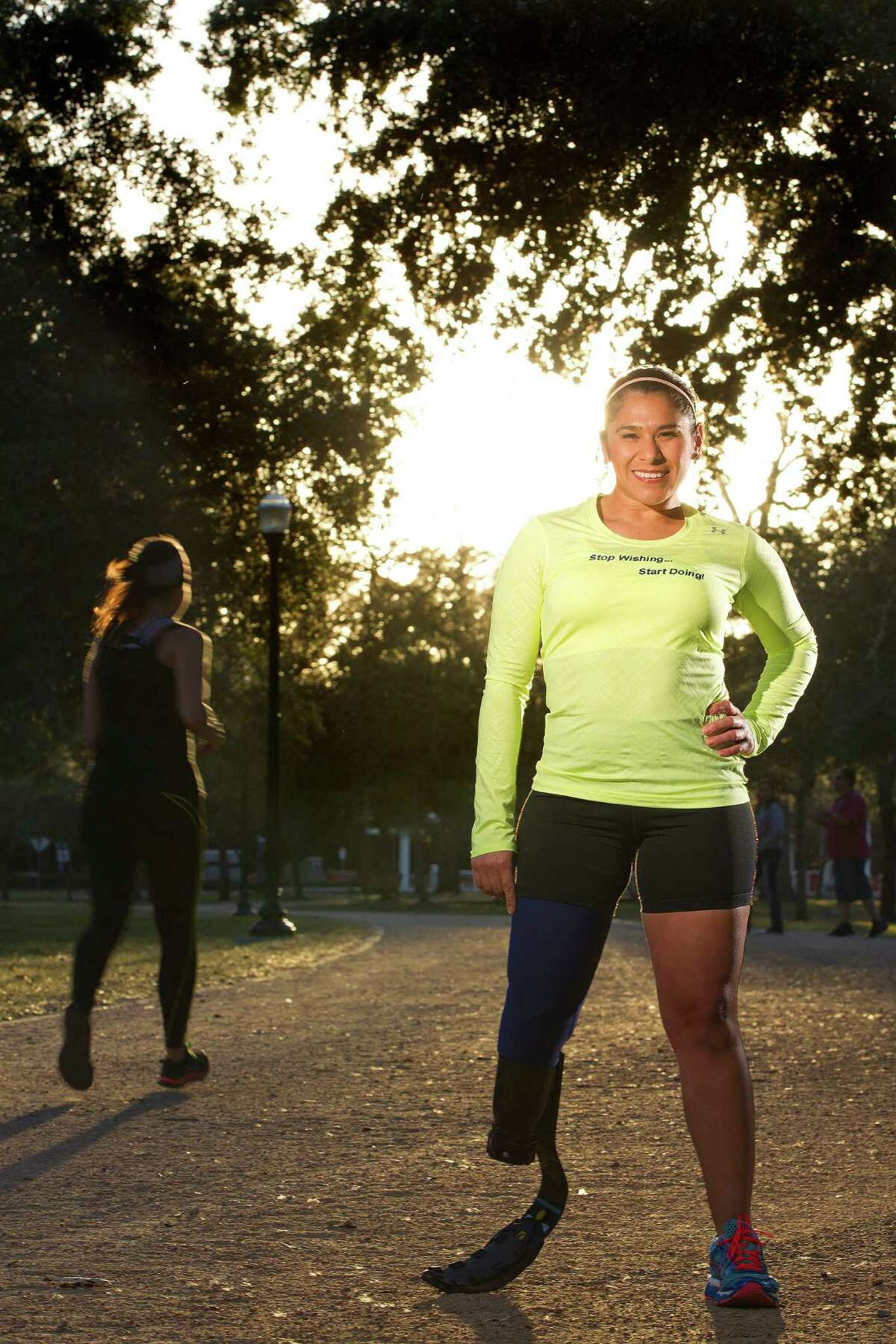 The Chevron Houston Marathon on Sunday will be Alma Faz's first crack at the 26.2-mile distance.