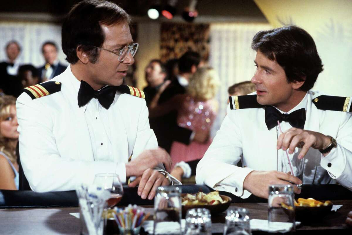 """After starring on """"The Love Boat"""" with Bernie Kopell, left, Fred Grandy served in Congress."""