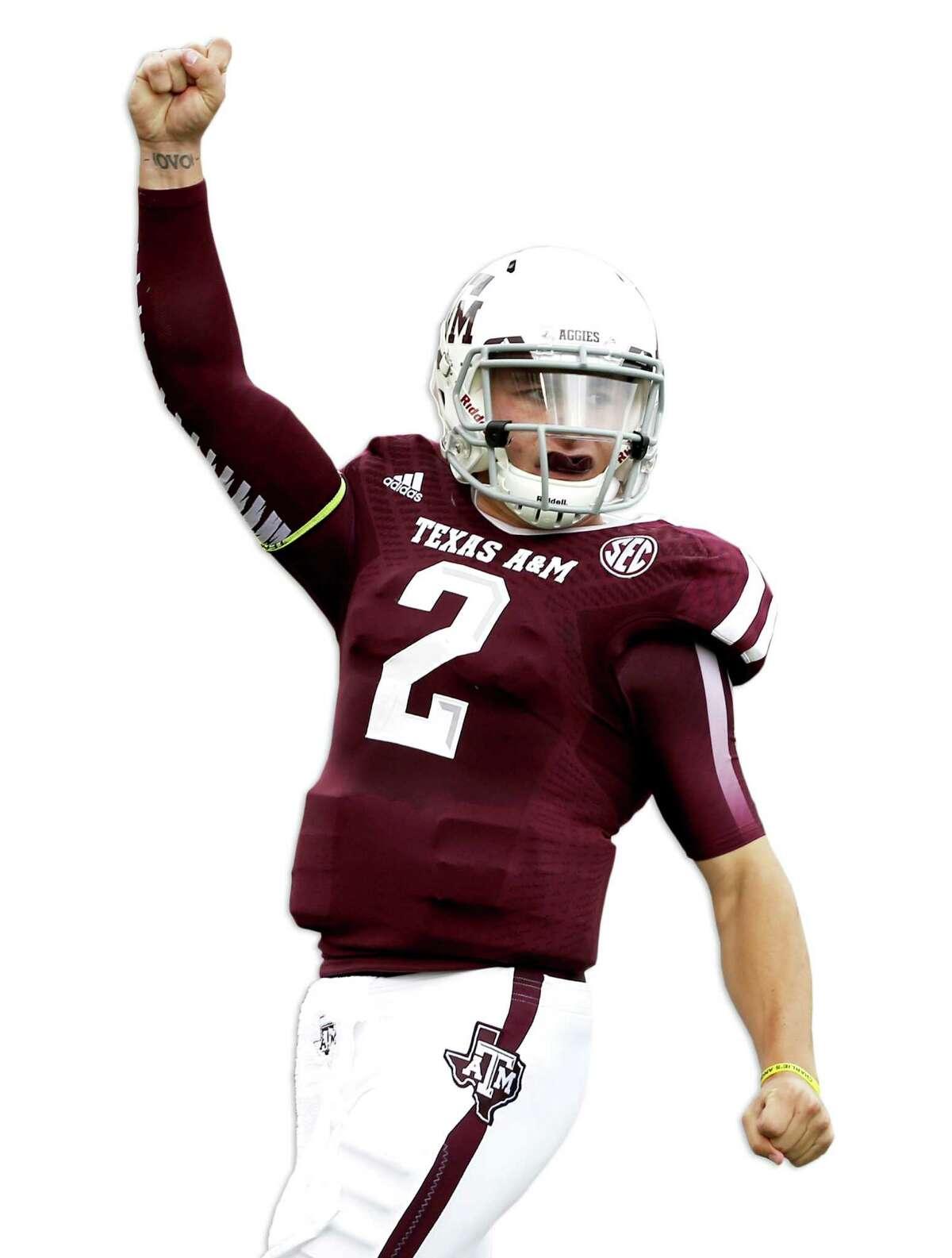 In his first mock draft this year, veteran ESPN draft analyst Mel Kiper Jr. has A&M quarterback Johnny Manziel going first to the Texans.