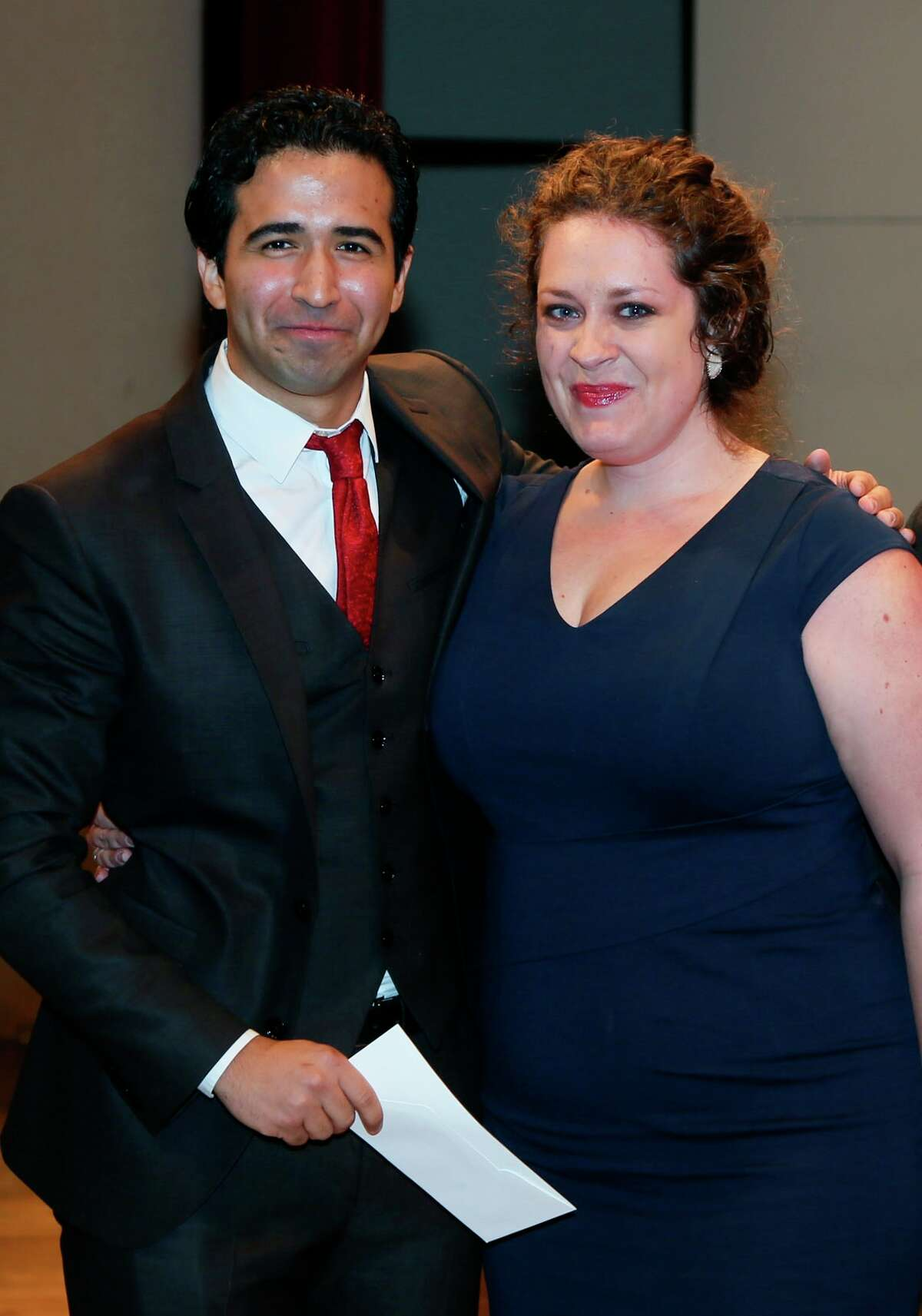 Tenor Rafael Moras, a Rice University graduate student, and soprano Natalie Cummings, a soprano from Lakeway, will compete in New York in the semifinals of the Metropolitan Opera National Council Auditions.