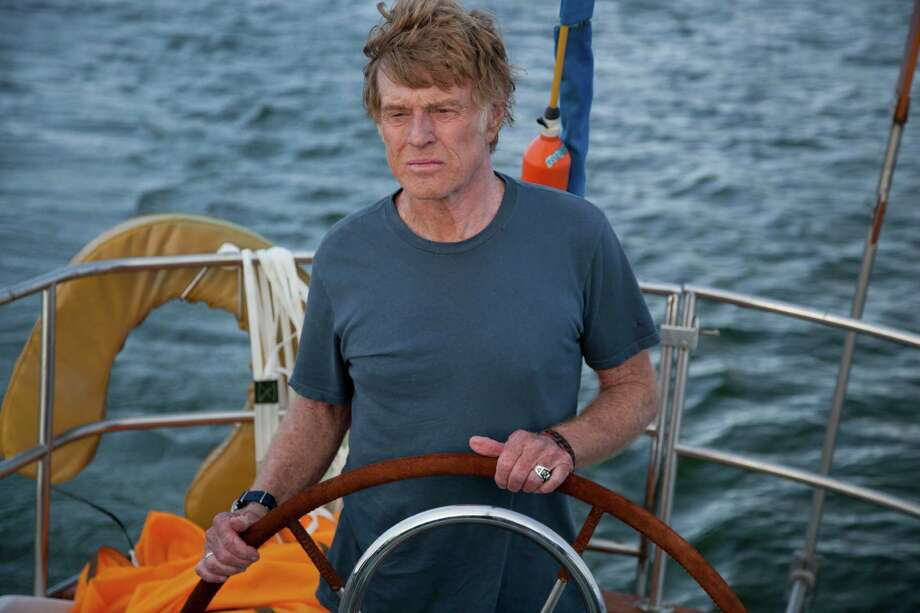 'All is Lost' - In this harrowing drama -- which has no dialogue -- Robert Redford portrays a man stranded alone at sea, courageously battling a ferocious storm as he struggles to survive with just a sextant and maritime maps to guide him. Available Sept. 5 Photo: Daniel Daza, HONS -end- / Roadside Attractions