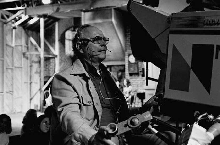 Saturday Night Live's camera operator on February 21, 1976 Photo: NBC, NBC Via Getty Images / © NBC Universal, Inc.
