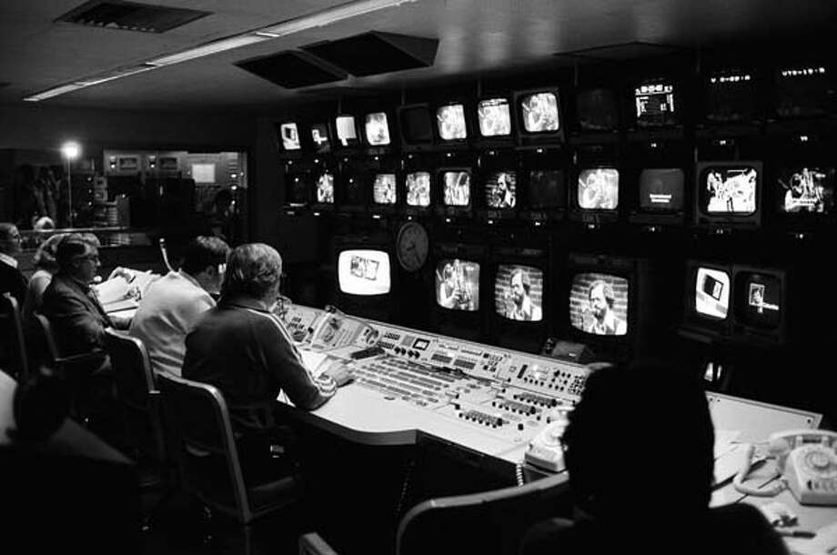 Saturday Night Live's control Room on January 28, 1978 Photo: NBC, NBC Via Getty Images / © NBC Universal, Inc.