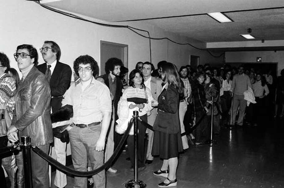 Saturday Night Live audience members wait on November 4, 1978 Photo: NBC, NBCU Photo Bank Via Getty Images / 2012 NBCUniversal Media, LLC