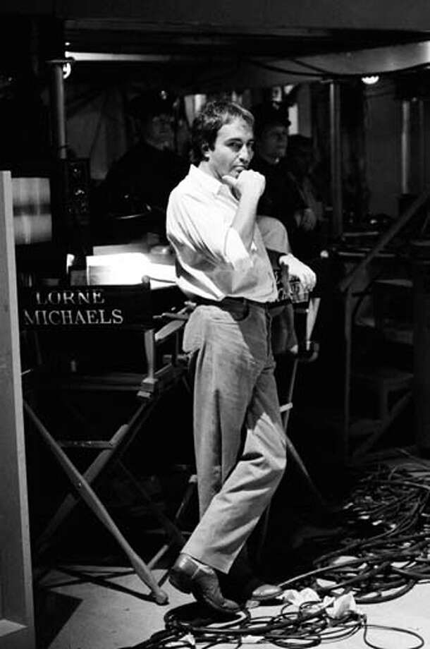 Producer Lorne Michaels on October 13, 1979 Photo: NBC, NBCU Photo Bank Via Getty Images / 2012 NBCUniversal Media, LLC