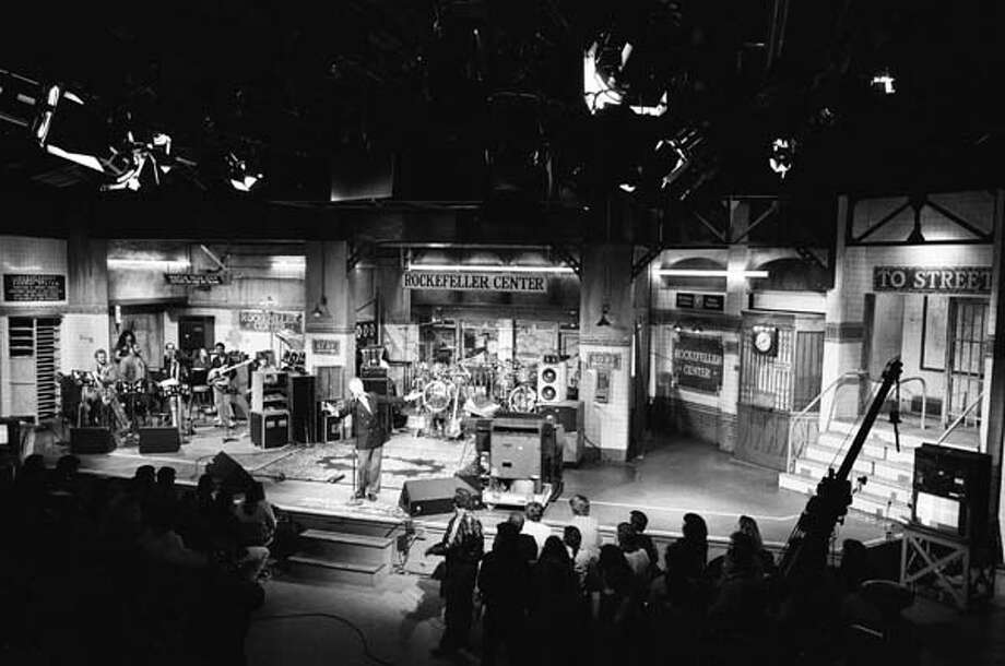 A view of Saturday Night Live's audience and stage on April 5, 1980 Photo: NBC, NBCU Photo Bank Via Getty Images / 2012 NBCUniversal Media, LLC