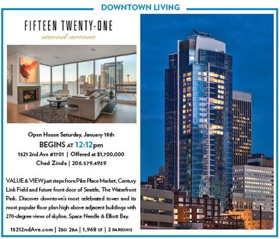 The folks over at Realogics Sotheby's International Realty have gotten into the 12th Man hoopla, announcing an open house 1521 2nd Ave., Unit 1701 to start at 12:12 p.m. on Saturday. The cost is quite a bit more than $480,000, however, at $1.7 million. Photo: Realogics Sotheby's International Realty