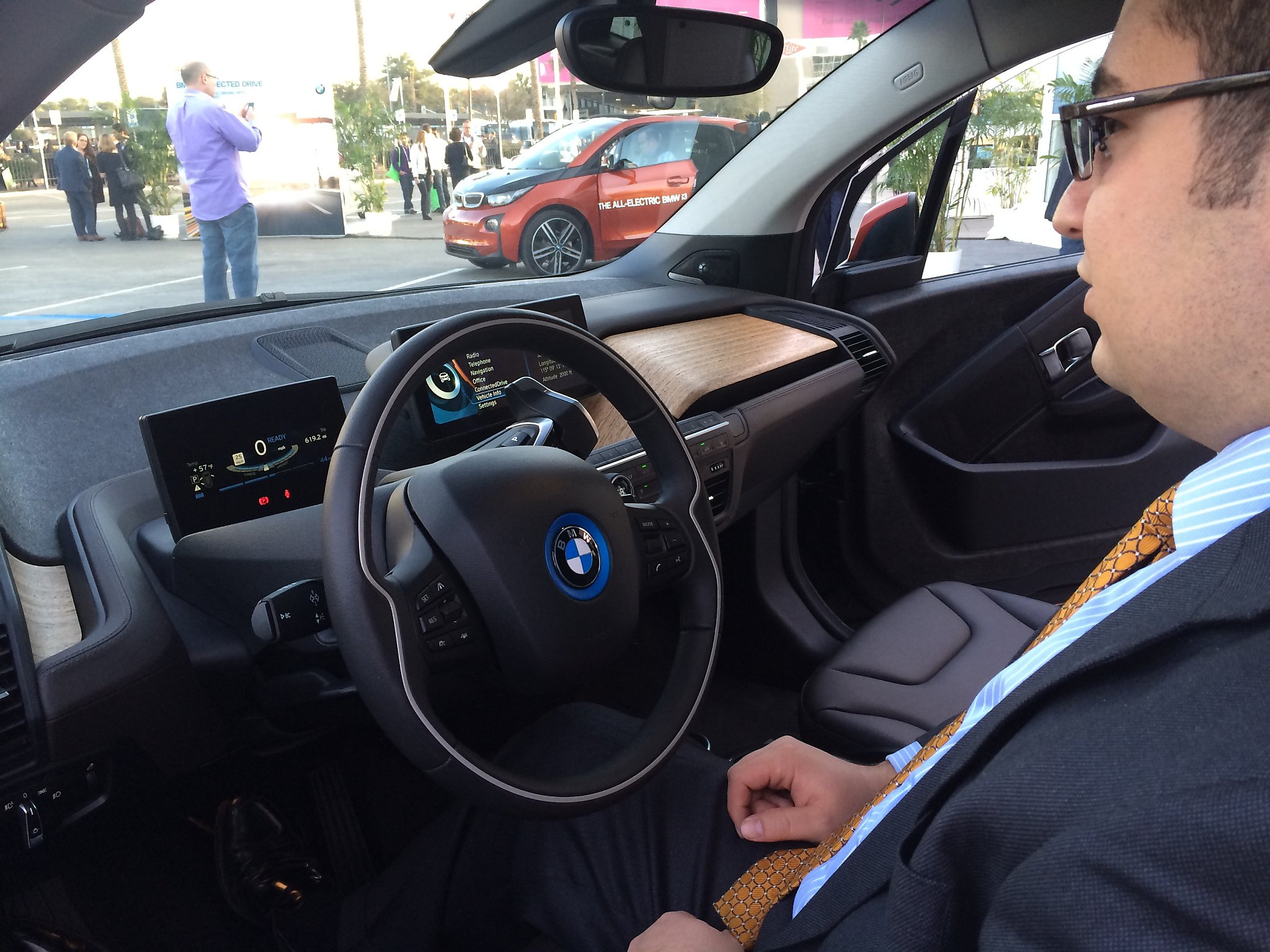 Bmw I3 Has S F Flair And Can Be Orange And Black Sfgate