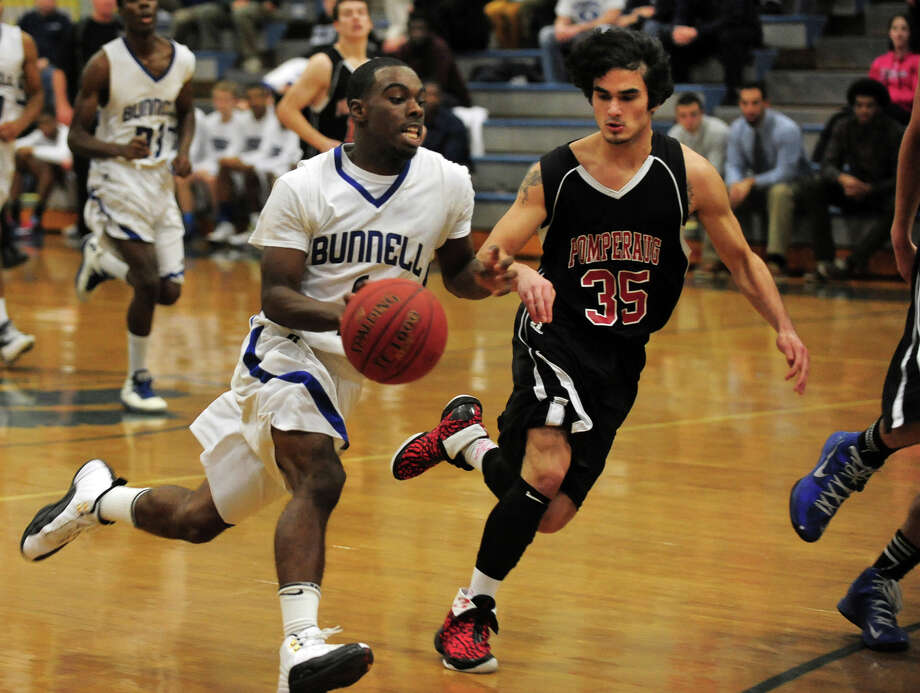(4) Ryan Pittman. Pittman and Vann give Bunnell a potent 1-2 combo that causes match-up nightmares for opponents. In the Masuk Holiday Tournament, Pittman was a one-man wrecking crewing while putting up this line: 23 points, 15 assists and  13 steals in an 85-65 win over Norwalk. No surprise here, Pittman was named MVP of the tournament. Photo: Christian Abraham / Connecticut Post