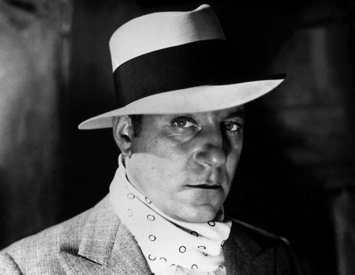 """French movie icon Jean Gabin as the title character of the French classic """"Pepe Le Moko"""" (1937)."""