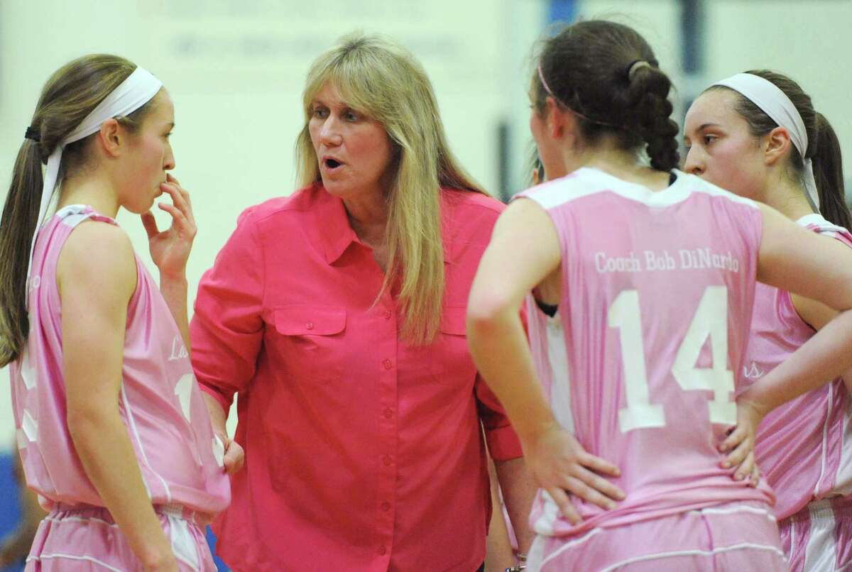 (10) Danbury's pink uniforms for