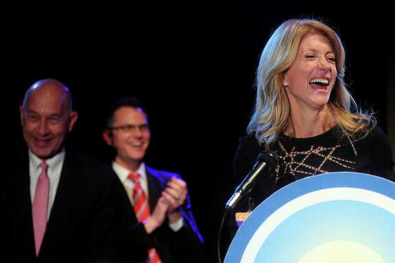 Campaign organizers for Democratic candidate state Sen. Wendy Davis said in the last six months of 2013,  she received 73 percent of her donations from Texas.