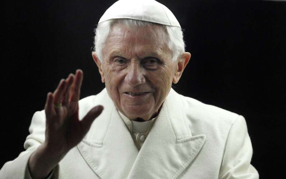 Pope Benedict XVI is shown in 2011. The Vatican's tone on sexual abuse by priests changed significantly from 2005, the first year it started reporting numbers, to 2012. Photo: Pier Paolo Cito / Associated Press / AP
