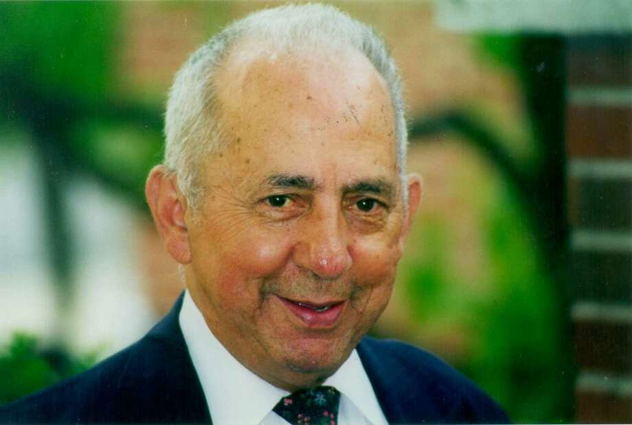 "Former Danbury town clerk and state legislator Michael ""Tweezer"" Seri died Friday night, Jan. 17, 2014. He was 90 years old. Photo: File Photo / The News-Times File Photo"