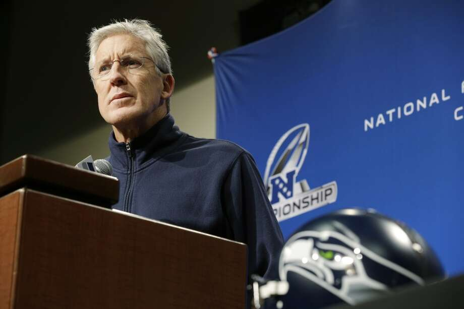 In their words: Seahawks prepare to battle 49ers for NFC title  How are the Seahawks feeling heading into Sunday's colossal NFC Championship game against the rival 49ers? Click through the gallery to read for yourself what the coaches and players have said this week. Photo: Ted S. Warren, Associated Press