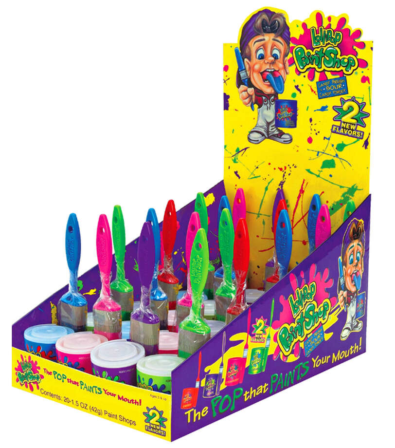 Lollipop Paint Shop candy- Nickelodeon was always playing commercials for this candy. Photo: Http://www.itsalldirect2u.com