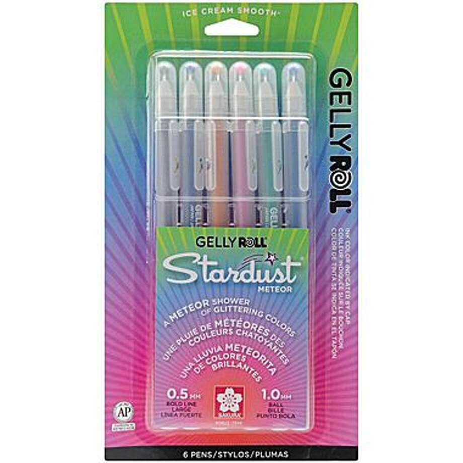 Gel Pens- People would buy these by the dozen. Photo: Staples