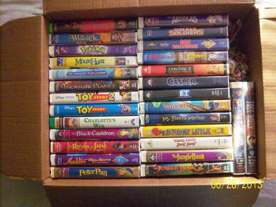 VHS Tapes and VCRs- Aw, the nostalgia.